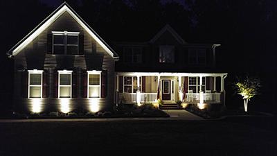 Southern Maryland Landscape Lighting