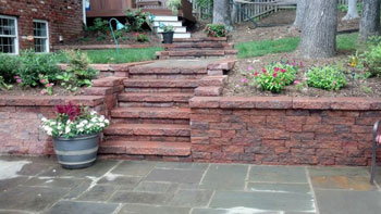 Huntingtown hardscaping patios