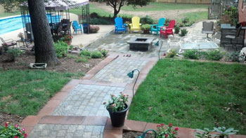 Owings hardscaping patios