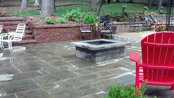 Prince Frederick hardscaping patio